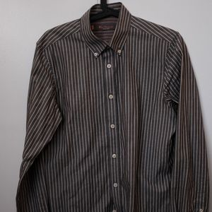 Ben Sherman Striped Button Up